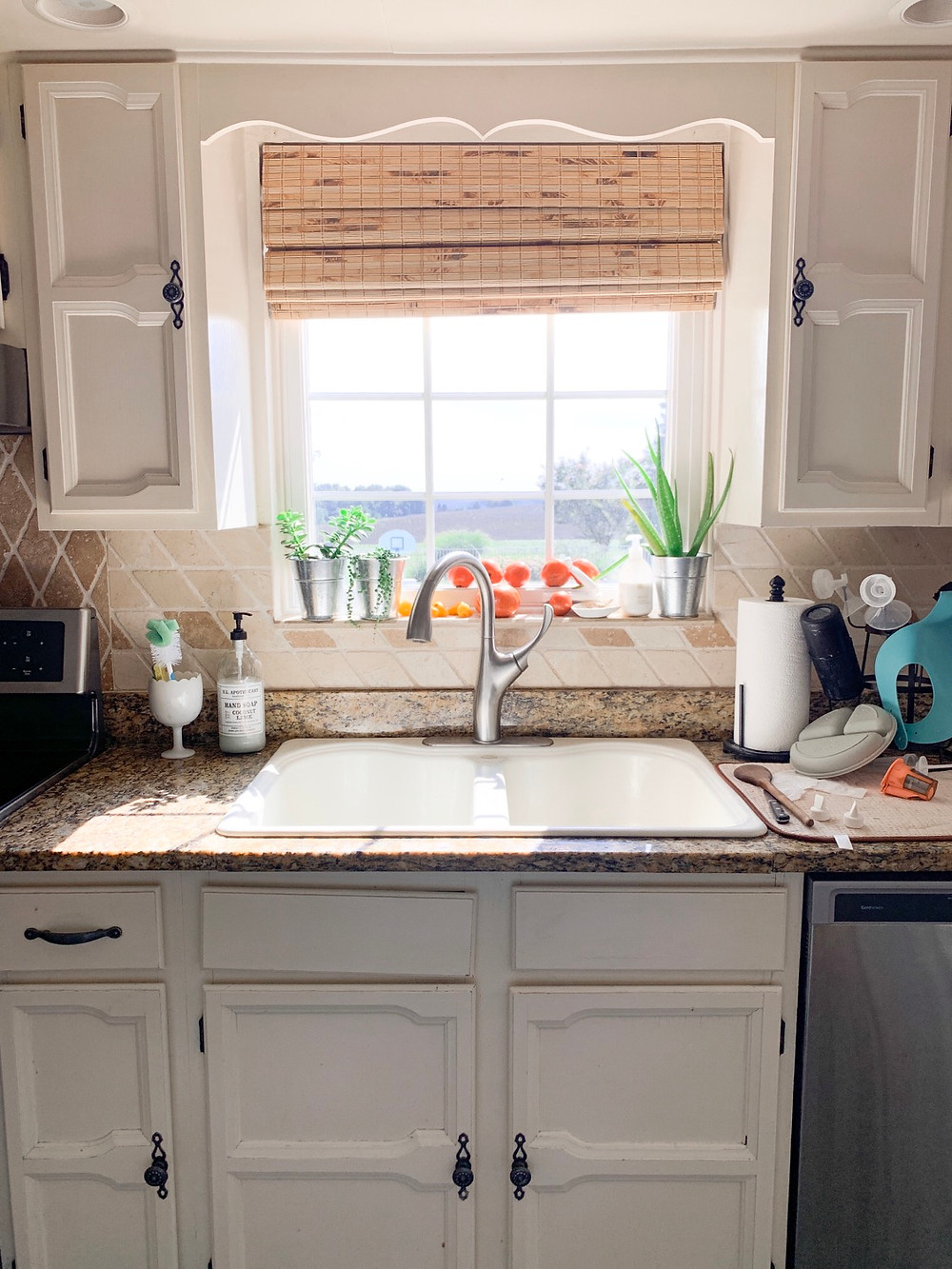 How To Remove The Wavy Trim Piece Over Your Kitchen Sink