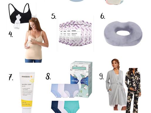 Top 10 Postpartum Essentials