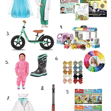 Holiday Gift Guide 2020   3-4 Year-Old Girl Gift Guide