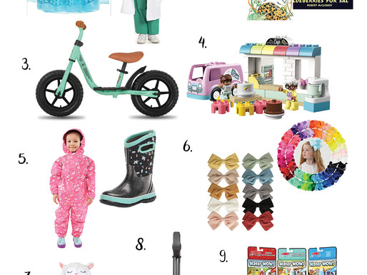 Holiday Gift Guide 2020 | 3-4 Year-Old Girl Gift Guide