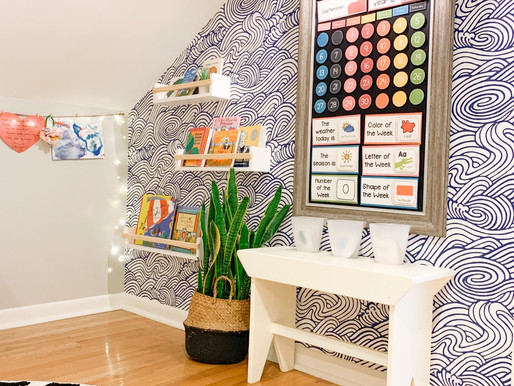 Homeschool Room Makeover and How We're Tackling At-Home Preschool in 2020