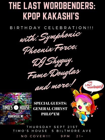 KPop Kakashi's Birthday