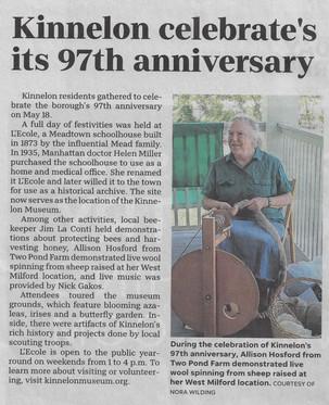 Kinnelon's 97th Anniversary Party