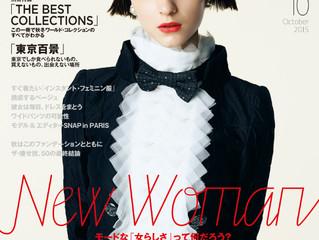 「SPUR 10月号」に掲載されました。