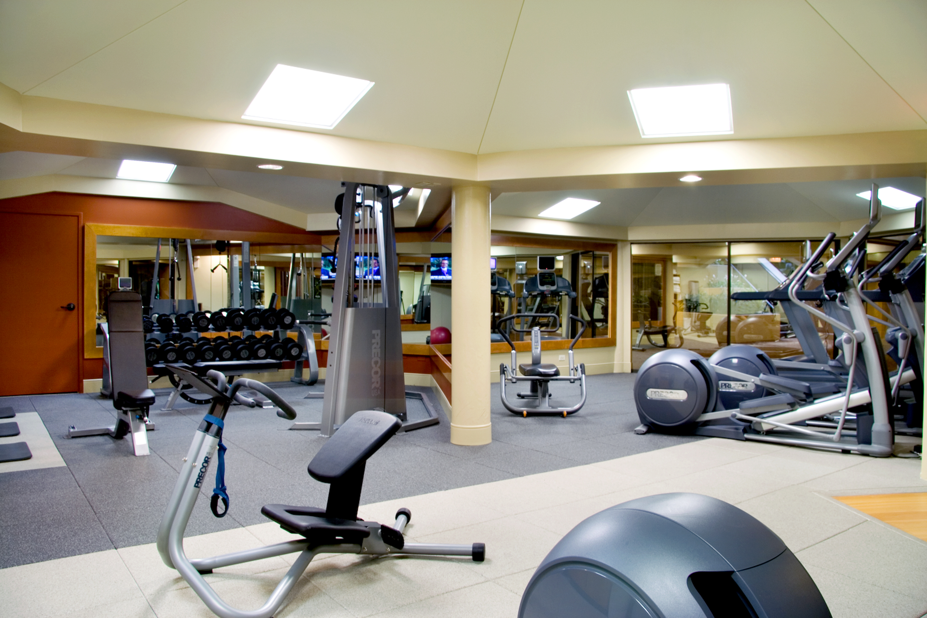 Fitness Center at Indian Lakes Hotel