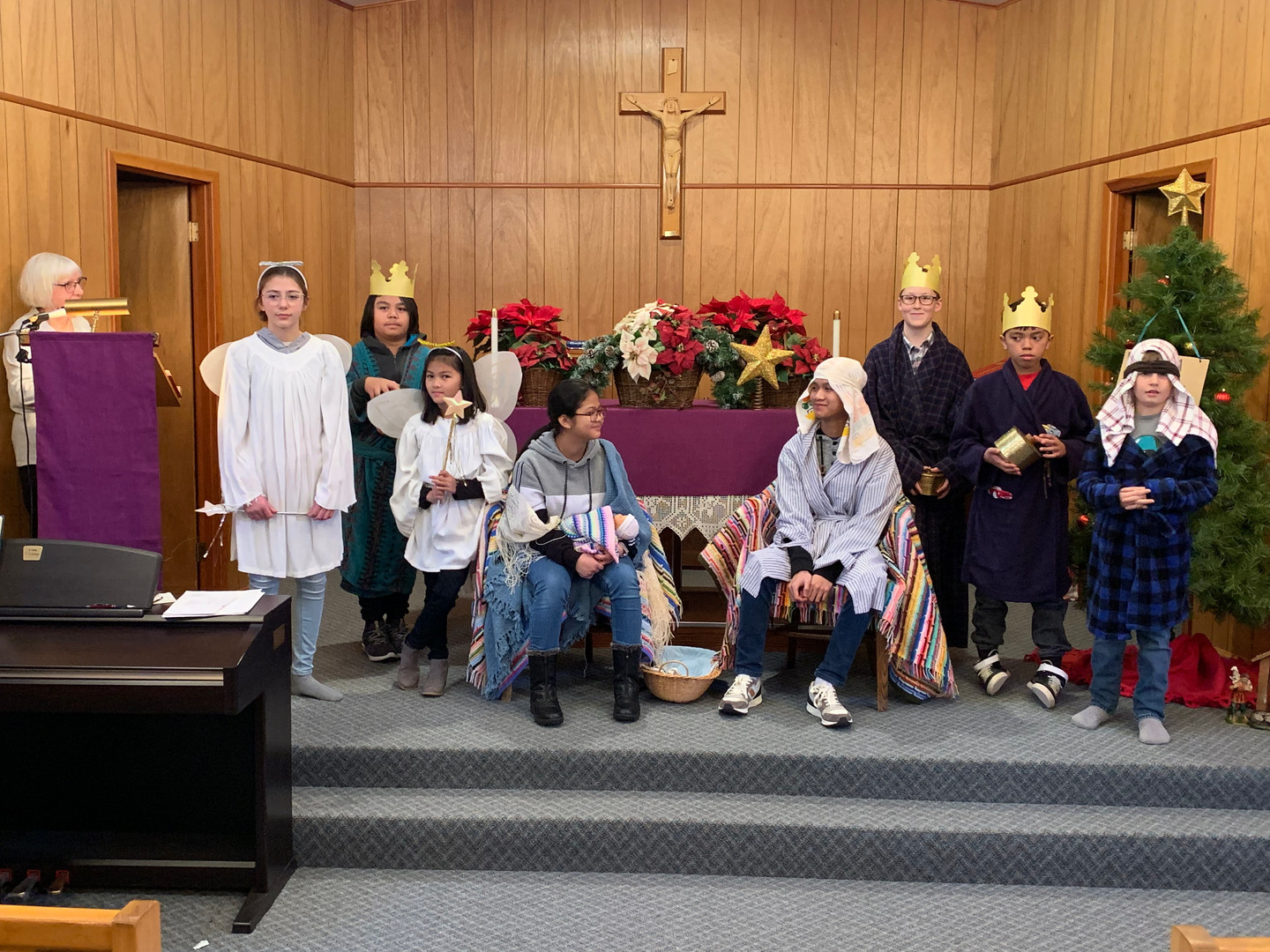 Christmas Pageant Climax 2019