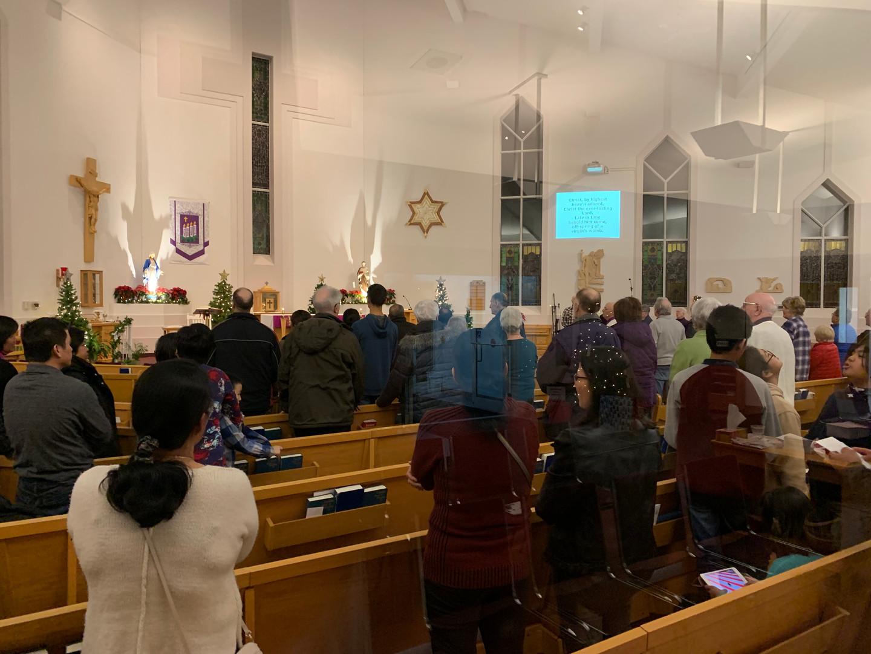Simbang Gabi Congregation 2019