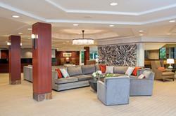 Lobby Seating at Indian Lakes Hotel