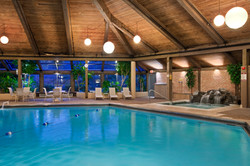 Indoor Pool at Indian Lakes Hotel