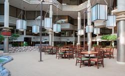 Atrium Seating at Indian Lakes Hotel