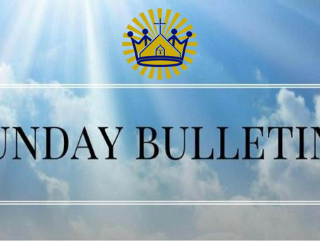 Bulletin for June 21, 2020