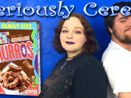 Cinnamon Toast Crunch, Meet Chocolate Churros!
