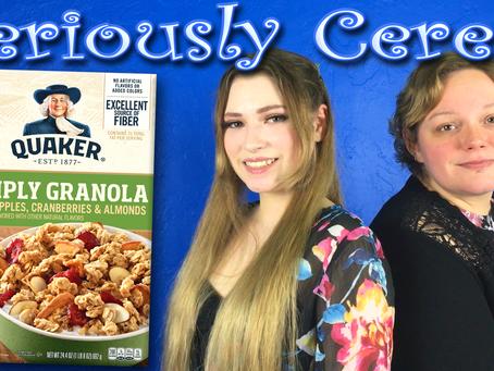 A New Contender? (Quaker Simply Granola Oats, Apples, Cranberries & Almonds)