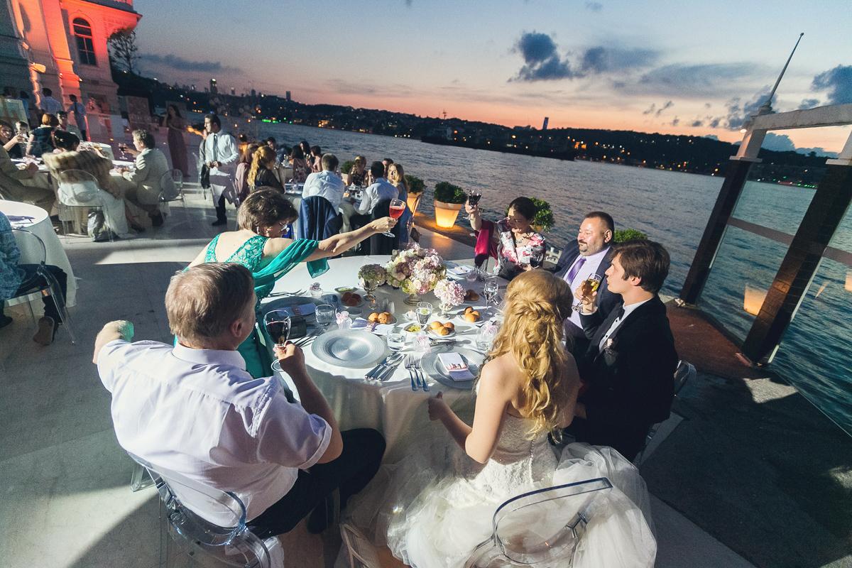 Свадьба на берегу Босфора