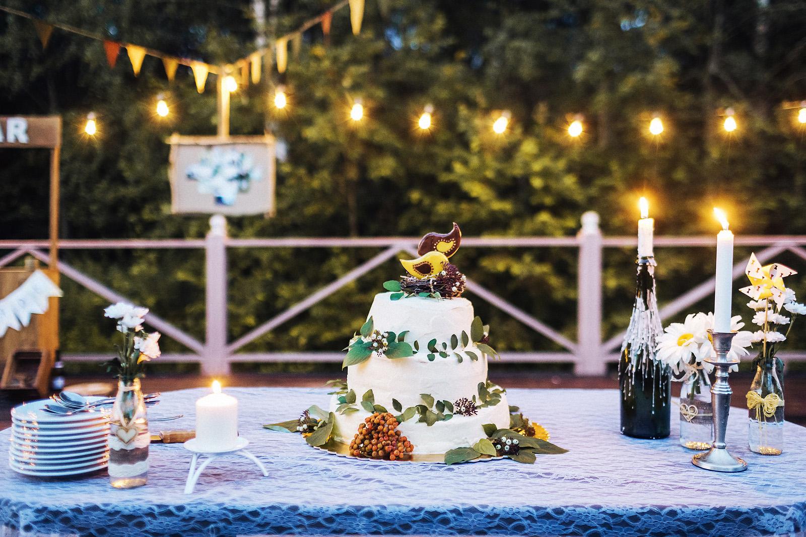 Рустикальная свадьба