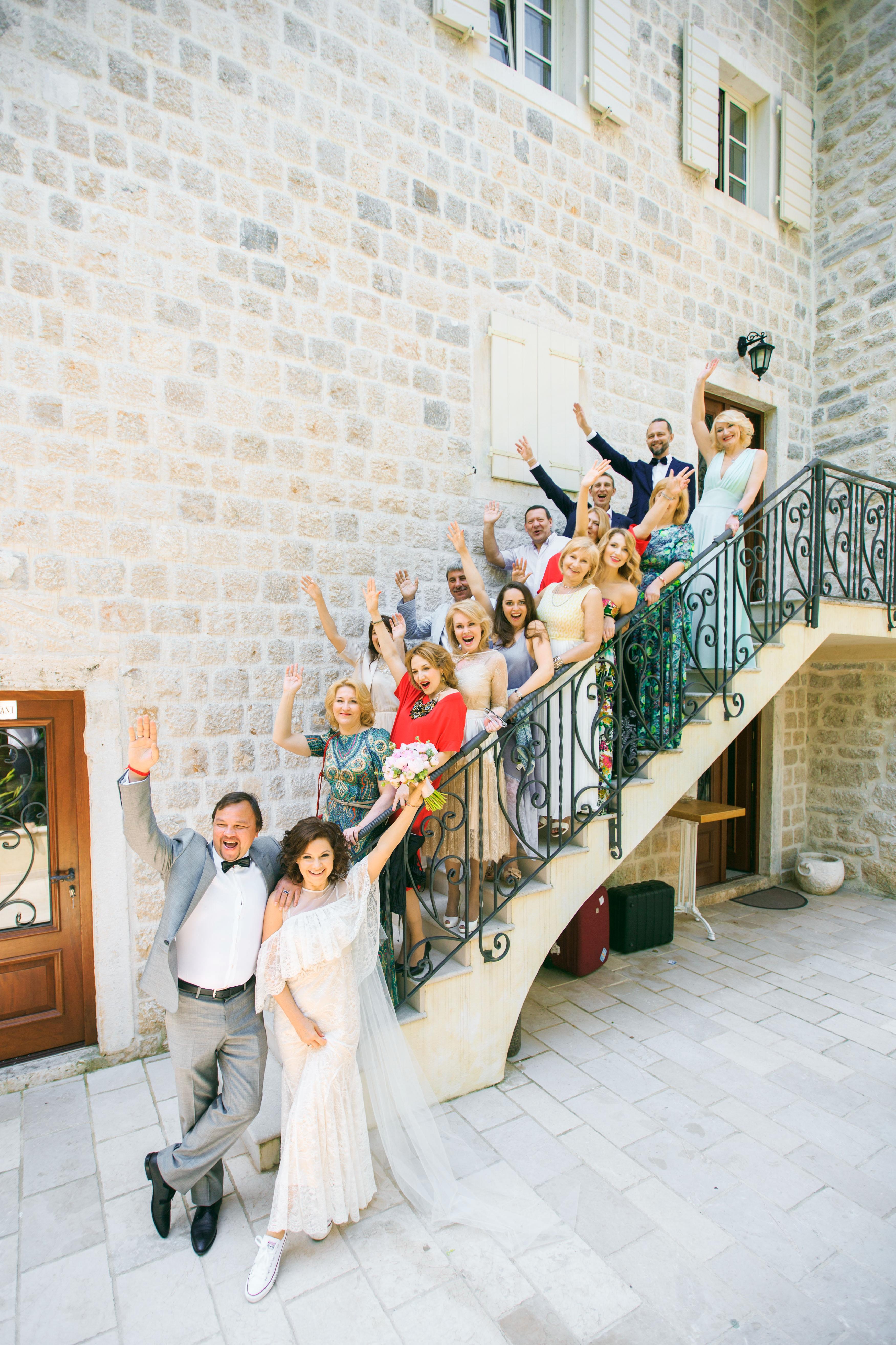Вилла для свадьбы в Черногории
