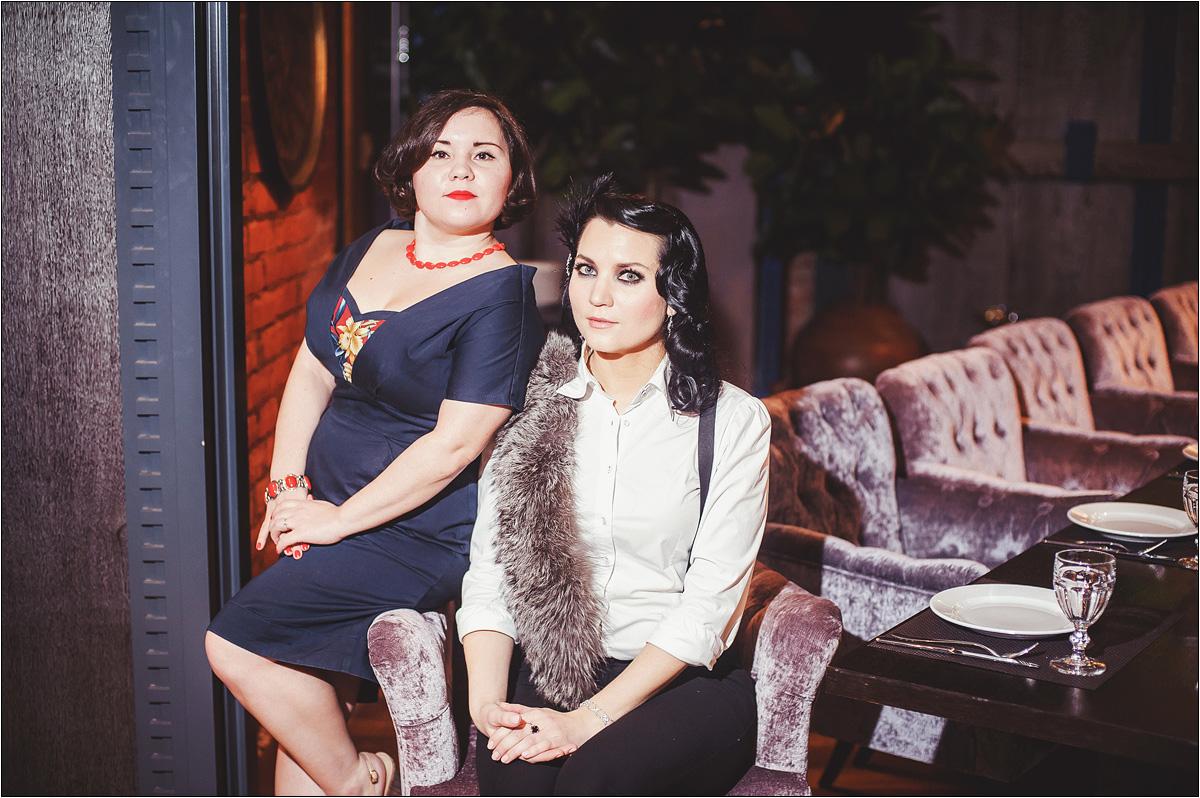 Евгения Кор и Мария Кирпичева
