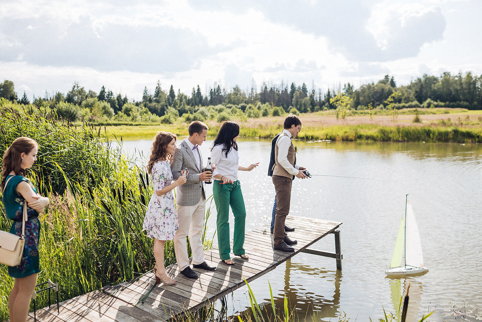Чем занять гостей на свадьбу