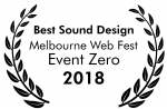 Event Zero Wins Best Sound Design Award!!!
