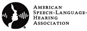 American Speech-Language-Hearing Association logo