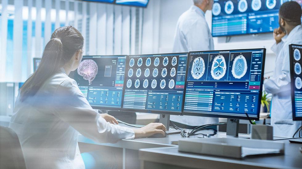 Radiólogo informe radiologíco