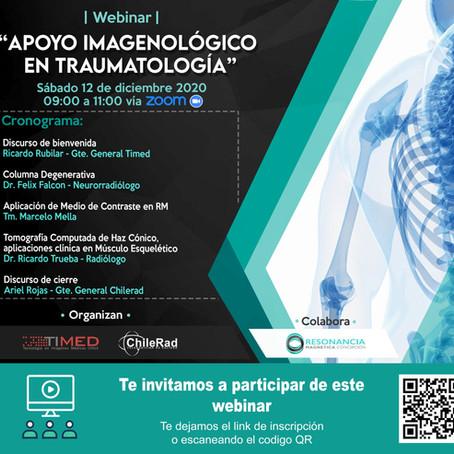 """Webinar """"Apoyo Imagenológico En Traumatología"""""""