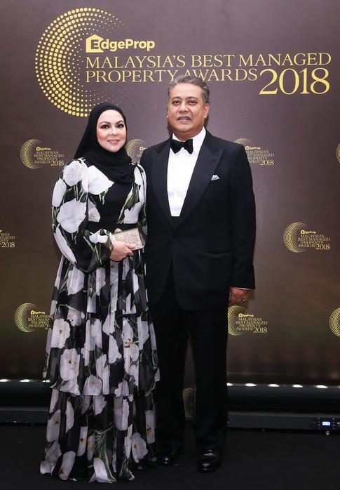 From left: Datin Seri Hafizah Zakaria and REHDA Malaysia president Datuk Seri FD Iskandar