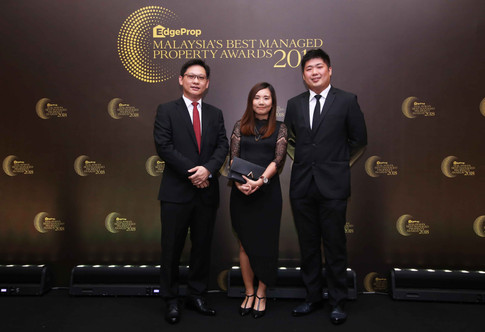 From left: Red Ideas Sdn Bhd director Ignatius Ho, associate director – creative & operations Ong Wai Hong and director David Foo.