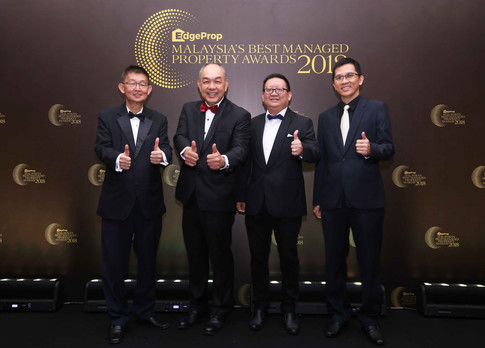 From left: Kim Realty CEO Vincent Ng, IQI Holdings Sdn Bhd director of business development Erick Kho, Malaysian Institute of Estate Agents president elect Lim Boon Ping and Metro Homes Sdn Bhd director See Kok Loong