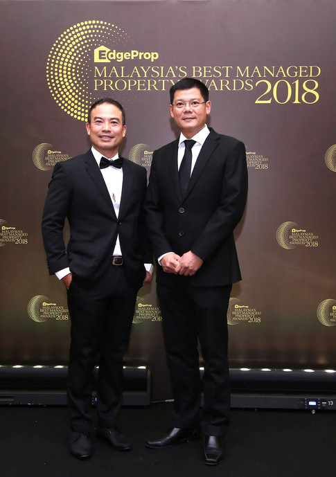 From left- Henry Butcher Malaysia (Penang) Sdn Bhd senior vice president business strategy and marketing Max Wong and Henry Butcher Malaysia (Penang) Sdn Bhd senior vice-president for asset valuation Shawn Ong