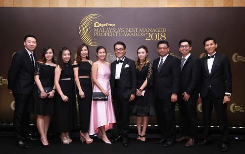 Panasonic Malaysia deputy managing director Hiroyuki Muto (in the middle) with Panasonic Malaysia team.