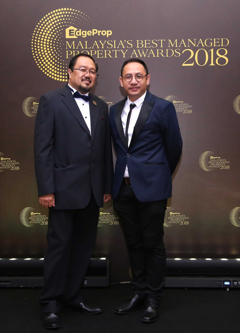 Institute of Landscape Architects Malaysia president Associate Professor Dr Osman Mohd Tahir and Hoda Design Sdn Bhd principal and landscape architect Ho Peng Ming