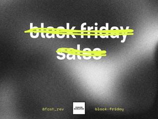 Black Friday and Sustainability