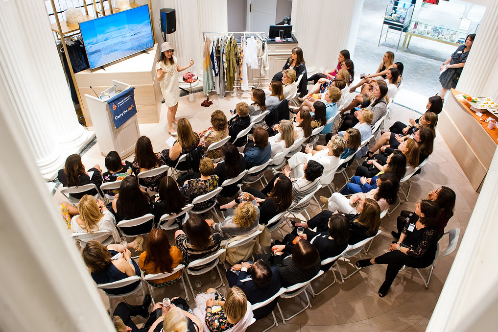 Israeli Fashion lecture Pomegranate event- Philly Federation