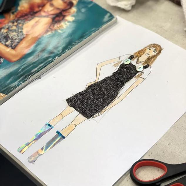 עיצוב אופנה לפי סקיצה