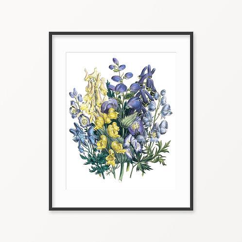 Vintage Botanical Print - 110