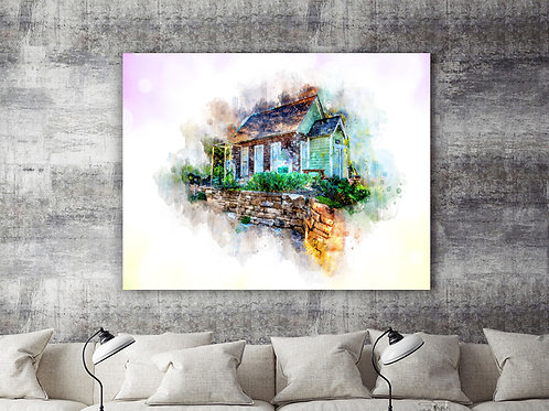 Colorful Home Large Wall Art