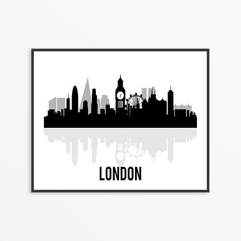 London City Silhouette v1