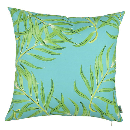Pillow Cover - Green Leaves - 302-7329/1