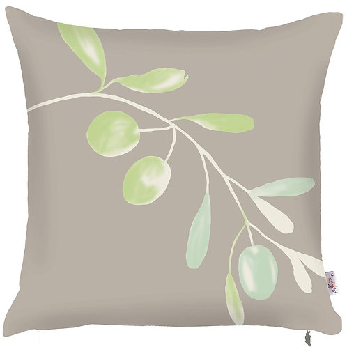 Pillow Cover - Olives on Grey - 502-8325/2