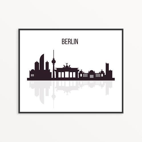 Berlin City Silhouette v3