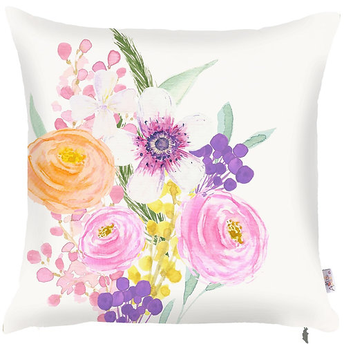 Pillow Cover - Flowers - 502-8351/2