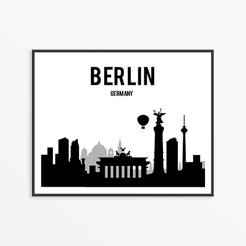 Berlin City Silhouette v2