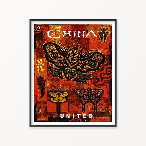 China Vintage Travel Poster