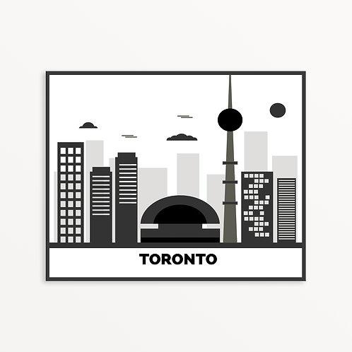 Toronto City Silhouette v3
