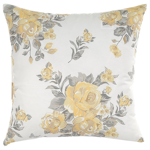 Pillow Cover - Yellow Roses - 502-8614/1