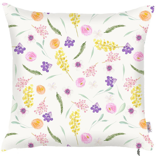 Pillow Cover - Flowers - 502-8350/2