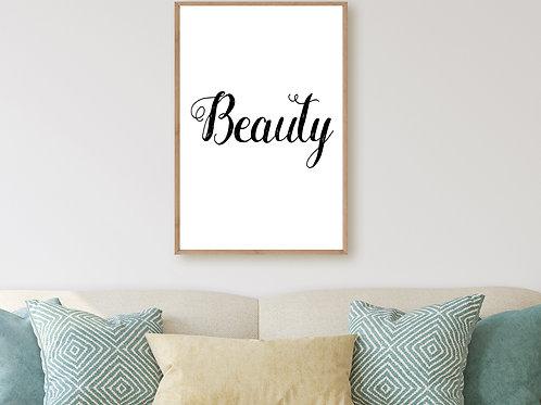 Beauty - Large wall art