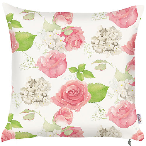 Pillow Cover - Pink Roses - 502-8234/1