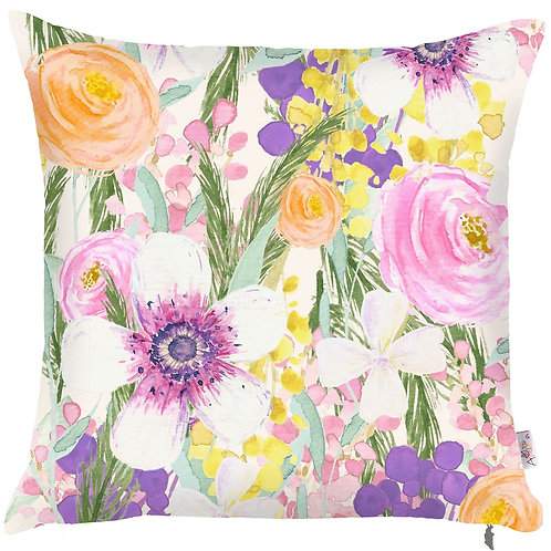Pillow Cover - Flowers - 502-8352/2
